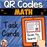 QR Codes: Math Word Problem Task Cards