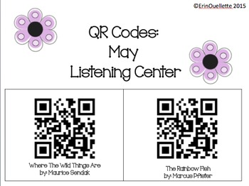 QR Codes: May Listening Centers **NO PREP**