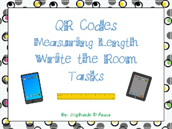 QR Codes Measuring Tasks Write the Room
