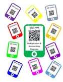 QR Codes Multiplication & Division Strip Diagrams (Tape Diagrams)