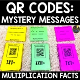 QR Codes Multiplication Facts Game