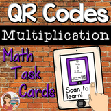 QR Codes: Multiplication Math Task Cards