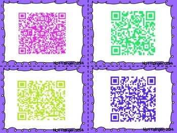 QR Codes: Nonfiction Reading Responses