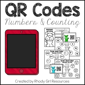 QR Codes: Numbers and Counting