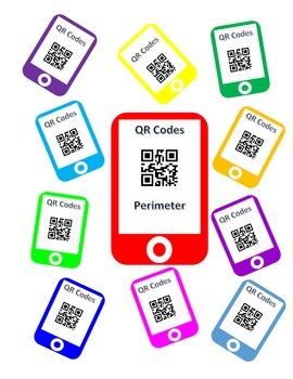 QR Codes Perimeter Task Cards