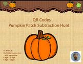 QR Codes Pumpkin Patch Subtraction Hunt