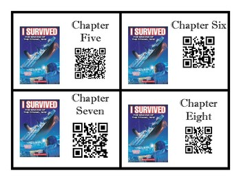QR Codes Read Aloud I Survived The Sinking of the Titanic 1912