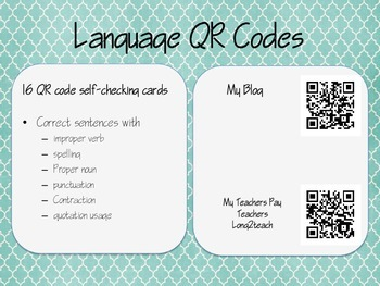 QR Codes Revising and Editing
