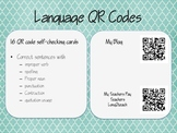 QR Codes Revising and Editing