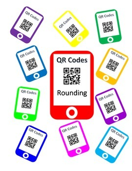 QR Codes Rounding Task Cards (Up to the Hundred Millions Place)