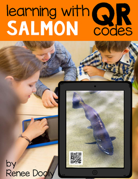 QR Codes - Salmon
