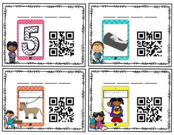 QR Codes: Say It, Make It, Scan It Set #2- CVC and CVCe Literacy Center