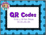 QR Codes Scan & Write Big Words Phase 3
