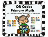 QR Codes Storybots Numbers 1-10 & Shapes