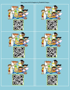 QR Codes Surfing - Student Numbers