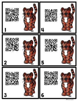 QR Codes - Tigers