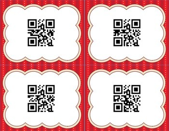 QR Codes - Upper and Lower Case Alphabet / ABCs with Recording Sheet