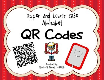 QR Codes - Upper and Lower Case Alphabet / ABCs with Recor