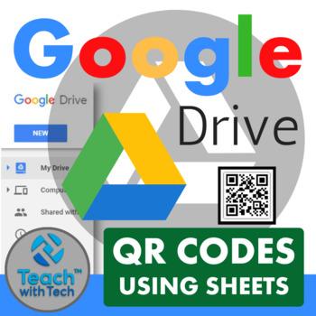 QR Codes using Google Sheets