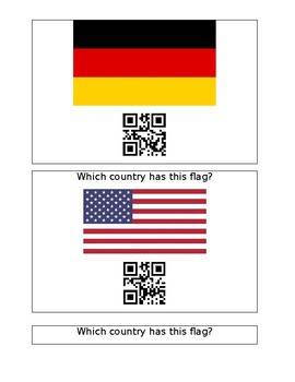 QR Codes Winter Olympic Countries and Flags