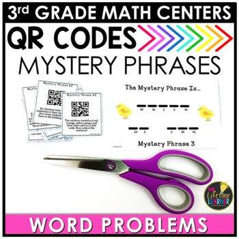 QR Codes Word Problems May Math Center