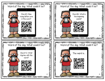 QR Codes: Word of the Day