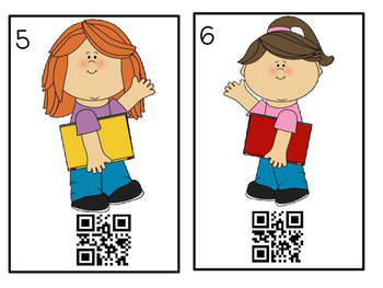 QR Codes Write the Room 1