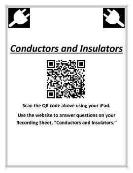 QR Codes and Conductors and Insulators