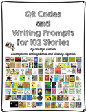 QR Codes and Writing Prompts for 102 Stories