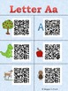 QR Codes for Alphabet Songs and Word Wall Cards