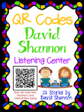 QR Codes for Author David Shannon - Listening Center