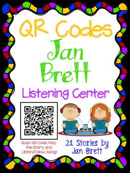 QR Codes for Author Jan Brett - Listening Center