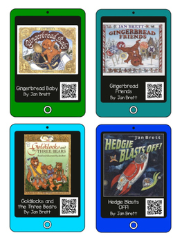 QR Codes for Author Jan Brett - Listening Center