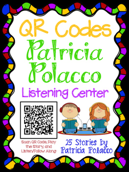 QR Codes for Author Patricia Polacco - Listening Center