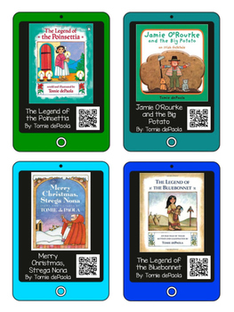 QR Codes for Author Tomie dePaola - Listening Center