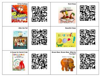 QR Codes for Books, Nursery Rhymes & Dances!
