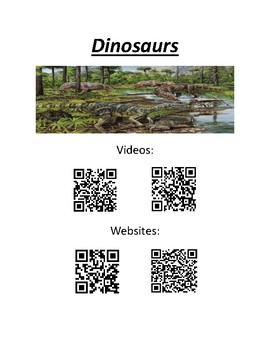 QR Codes for Dinosaurs