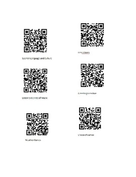 QR Codes for Fast Finishers in Spanish