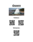 QR Codes for Geysers