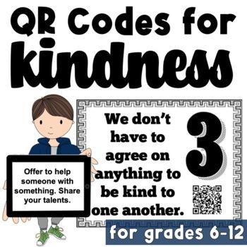 School Wide RAK Challenge: QR Codes for Kindness