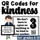 School Wide Random Acts of Kindness Challenge: QR Codes fo