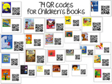 QR Codes for Listening Center- 63 Different Books with Pictures