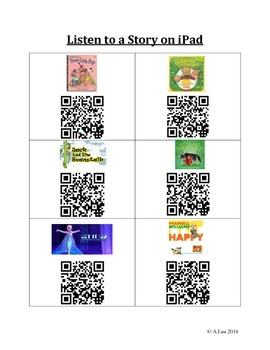 QR Codes for Listening Centre