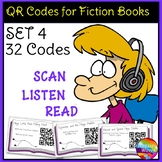 QR Codes for Listening Station Center Activities Printable Literacy SET 4