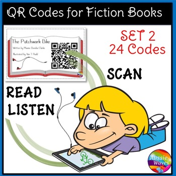QR Codes for Listening Station Center Activities SET 2