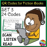 QR Codes for Listening Station Center Activities SET 3