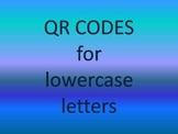QR Codes for Lowercase Letters