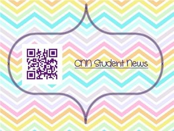 QR Codes for News Resources for the Classroom