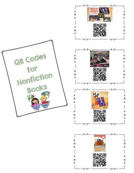 QR Codes for Nonfiction Books