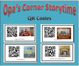 QR Codes for Opa's Corner Storytime stories - Christmas